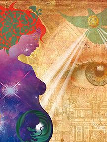 L'Annonciation ou la Vierge du Cosmos détail BD